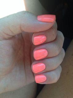 """Ich bin heller als Sie"" Gelish 105 - only nails Gelish Nail Colours, Gelish Nails, Nail Polish Colors, Gel Polish, Nail Nail, Cute Nails, Pretty Nails, Beach Nails, Dipped Nails"