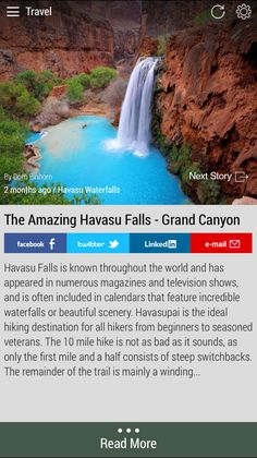 #havasufalls #hiking  Download the FREE Born2Invest Android app to get the full scoop and many more business news summaries.
