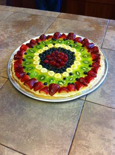 Fruit Pizza. best day of my life.