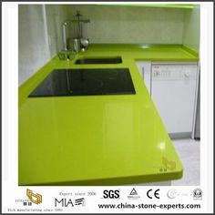 China Different Types of Cheap Pure Green Quartz Stone Kitchen Countertops Manufacturers, Suppliers - Wholesale Price - Yeyang Stone Factory Artificial Marble, Artificial Stone, Quartz Kitchen Countertops, Stone Kitchen, Bathroom Vanity Tops, Xiamen, Green Quartz, Quartz Stone, China