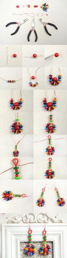 DIY Beach Jewelry-Making Hawaiian Seashell Earrings for Summer from LC.Pandahall.com