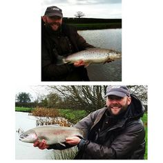 First outing of the year for our Total Fly Fishing Editor Andy Taylor at Shropshire's Ellerdine Lakes with some great looking browns and rainbows making an appearance! #AndyTaylor #TotalFlyFishing #Shropshire #EllerdineLakes