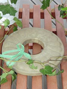 Kranz aus Beton von Little Things auf DaWanda.com