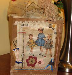 gift bag collage