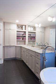 Dayton Painted Linen Mission Bath Vanity Cabinets From Cliqstudios Entrancing Dayton Bathroom Remodeling Design Inspiration