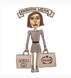 Angelica Hicks Takes Subtle Jabs at the Fashion Industry #humor trendhunter.com