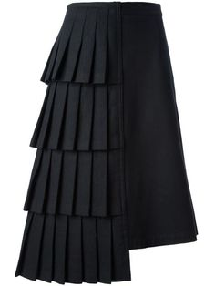 Shop Comme Des Garçons Vintage asymmetric skirt in House of Liza from the world's best independent boutiques at farfetch.com. Over 1000 designers from 300 boutiques in one website.