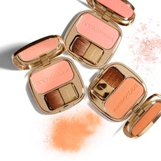 Dolce & Gabbana Make Up The Blush Luminous Cheeck Colour in Peach, Apricot and Rosebud