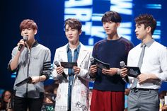 MC Stage: Bam Bam and Jr. (Got7), Key (SHINee), and Jungshin (CNBlue)
