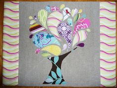 Blooming tree, Pattern: Mommy for Reals