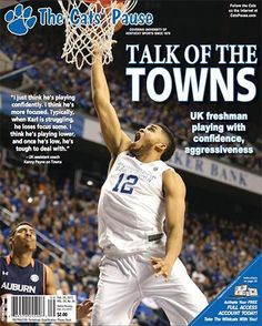 Speaking of Karl-Anthony Towns, @KATis32 (and @LittleKarlito) on the latest cover of The Cats' Pause: #BBN