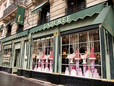 Ladurée, Paris: the rue Royale location near La Madeleine was the first Ladurée bakery I had been to but now I have been to all locations in the city