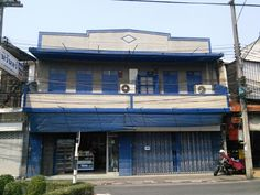 Blue! Chiang Mai, Buildings, Cool Stuff, Architecture, City, Blue, Cool Things, Arquitetura, Architecture Illustrations