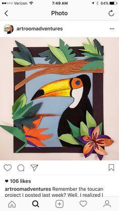Henri Rousseau Toucan