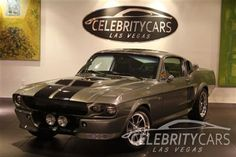 1968 Ford MUSTANG SHELBY GT500 (ELEANOR of Gone in 60 Seconds) - Click to see full-size photo viewer