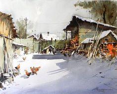 'Burhan Özer-Watercolor Artist' - Yahoo Image Search Results