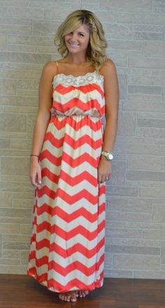 Maxi dress by Apricot Lane Boutique!