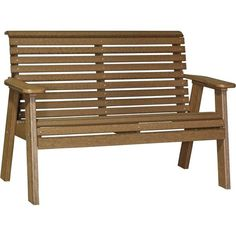 Outdoor Bench. The LuxCraft Rollback Recycled Plastic 4ft Bench requires virtually no upkeep. Lifetime Warranty. Free shipping Buy Online Today!