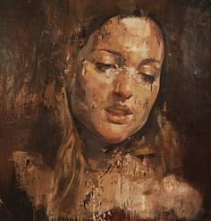 "Saatchi Art Artist: Yuriy Ibragimov; Oil 2013 Painting ""GOLDEN HAIR"""