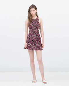 Image 1 of DRESS WITH SIDE SLITS from Zara