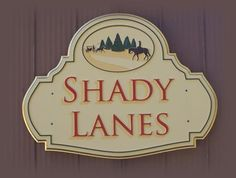 3 Dimensional routered sign. Hand painted and gold leafed High Density Urethane. Created by Jackie Shields, www.saugeensignworks.com Carving, Hand Painted, Signs, Gold, Painting, Joinery, Novelty Signs, Paintings, Sculpting