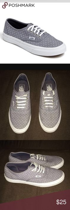 Vans sneakers! Barely worn! Cute casual shoes, great for fall!! Vans Shoes Flats & Loafers