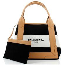 バレンシアガ スーパーコピー 大人気のXSストライプキャンバストート Black 6060304 【素材】 キャンバス レザー 【色】 Black and white 【サイズ】XSサイズです 24×19×8cm