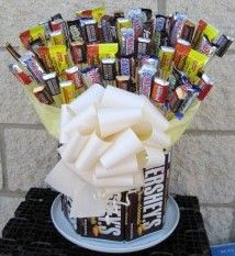 How To Make Candy Centerpieces A Bar Bouquets