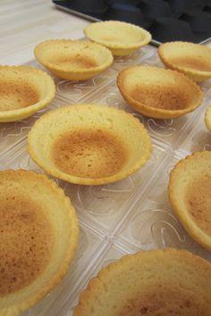 La pâte sablée et cuisson à blanc des tartelettes