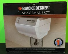 New in Box Black & Decker model CG800WM, SpaceMaker Mini-Food Processor/Coffee Grinder. Great for chopping food or grinding you coffee beans. Perfect for the smaller kitchen, cabin or RV! | eBay!