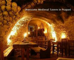 Midevil tavern in Prague