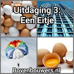 Uitdaging 3: Een Eitje - Raar maar Waar - Kinderboekenweek 2015 - Bovenbouwers.nl