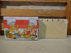 1979 Enesco Lucy Rigg Lucy & Me Tin Recipe Box by DebbiesDabblings