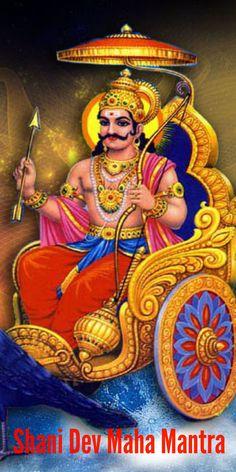 Shani Dev Maha Mantra for Good Luck – Om Sham Shanicharaya Namah
