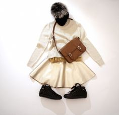 gold and fashion for kids