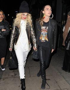 Rita Ora & Cara Delevingne