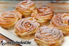 Cruffin Recipe, Crescent Rolls, Croissants, Winter Food, Doughnut, Cake Recipes, Muffins, Snacks, Cookies