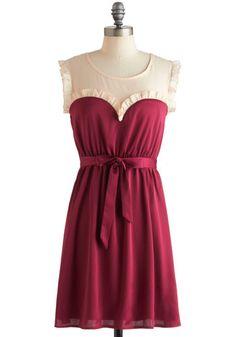 Ravishing in Raspberry Dress, #ModCloth