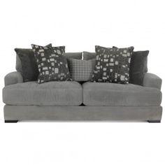 Jonathan Louis Carlin Bella Granite Sofa   Gallery Furniture - Houston, TX $999