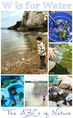 W is for Water - The ABCs of Nature - In The Playroom
