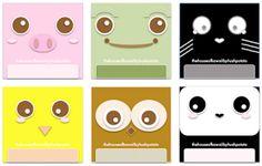 Hush Potato House: Freebies: Kawaii Animals