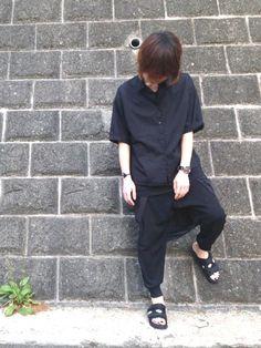 こんばんは、しぐまです。 今回は安いぞお。 ただやっぱり黒は暑いですね。 でも落ち着く。 Normcore, How To Wear, Style, Fashion, Swag, Moda, Fashion Styles, Fashion Illustrations, Outfits