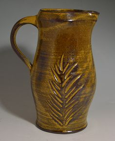 Wheel thrown jug by Amy Manson Pottery