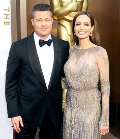 Angelina Jolie and Brad Pitt on Aug. 23rd 2014 they got married