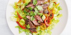 Fajita Steak Salad Horizontal