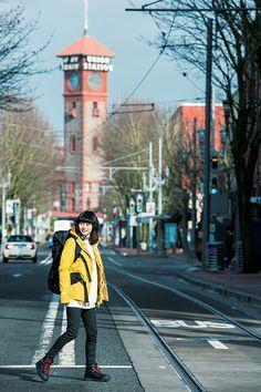 忽那汐里×BARFOUT!×Columbia - Solo Trip in Portland |最新情報|コロンビアスポーツウェア 公式サイト - Columbia Sportswear