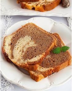 Babka Caffe latte - I Love Bake Jaffa Cake, Caesar Pasta Salads, I Want To Eat, Coleslaw, Brownies, French Toast, Food And Drink, Favorite Recipes, Lunch