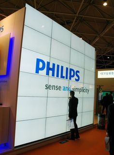 VideoWall de Philips at ISE #DigitalSignage