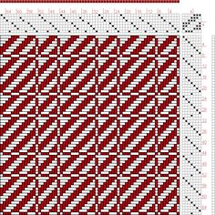 Hand Weaving Draft: Page 228, Figure 1, Orimono soshiki hen [Textile System], Yoshida, Kiju, 7S, 7T - Handweaving.net Hand Weaving and Draft...