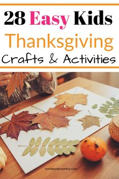 Kids Thanksgiving Crafts and Activities - Before Thanksgiving passes us by why not have a little fun. Here is a round-up of 28 Kids Thanksgiving crafts and activities to help celebrate turkey day. Thanksgiving Placemats, Thanksgiving Crafts For Kids, Holiday Crafts, Fun Crafts, Thanksgiving Turkey, Holiday Ideas, Turkey Handprint, Craft Activities, Nature Activities